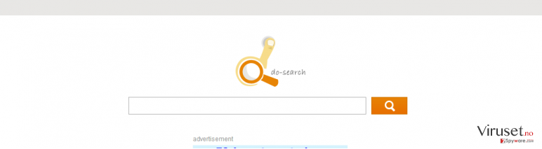 Do-search skjermbilde