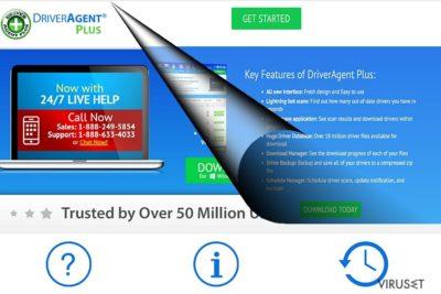 Eksempel på DriverAgent Plus