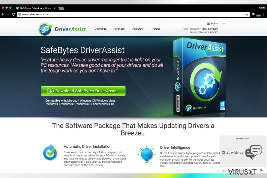 Driver Assist fra SafeBytes