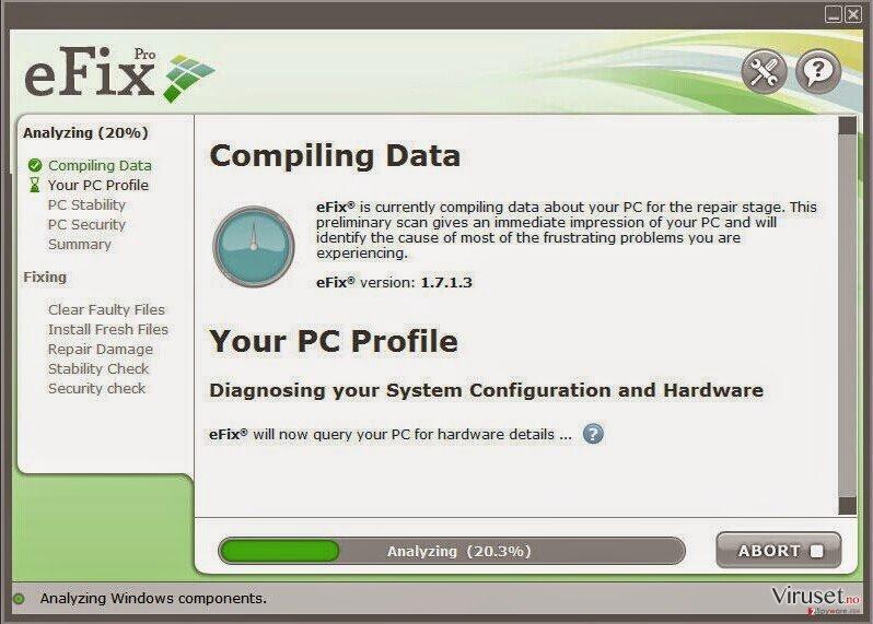 eFix Pro skjermbilde