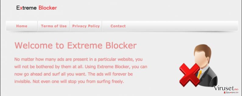 Extreme Blocker-virus skjermbilde