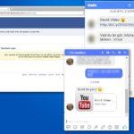 Facebook-viruset skjermbilde
