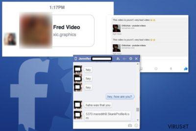 Eksempler på Facebook Message-virus