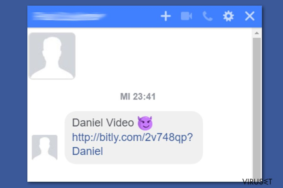 Facebook video-virus