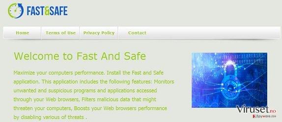 Fast And Safe skjermbilde
