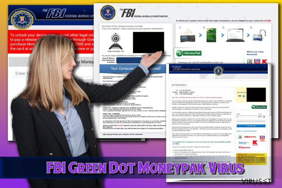 FBI Green Dot Moneypak-virus