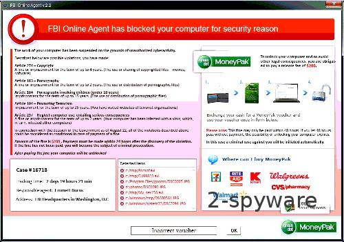 FBI Online Agent skjermbilde