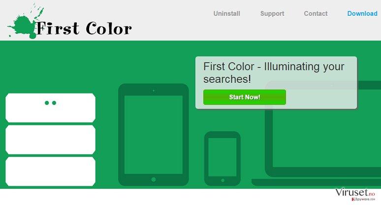 First Color-annonser skjermbilde