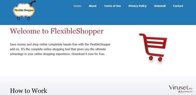 FlexibleShopper annonser skjermbilde