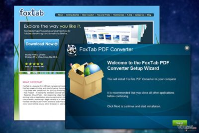 FoxTab Pdf Converter