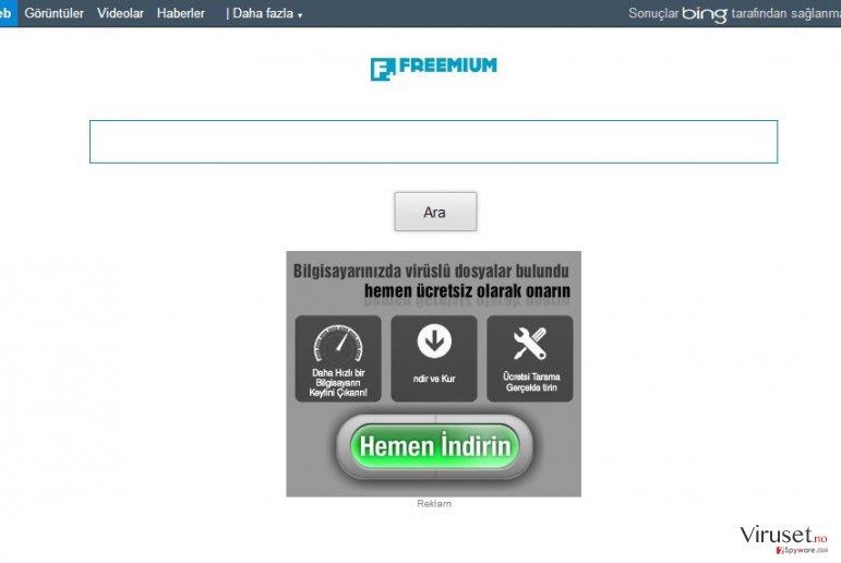 Freemium ads skjermbilde