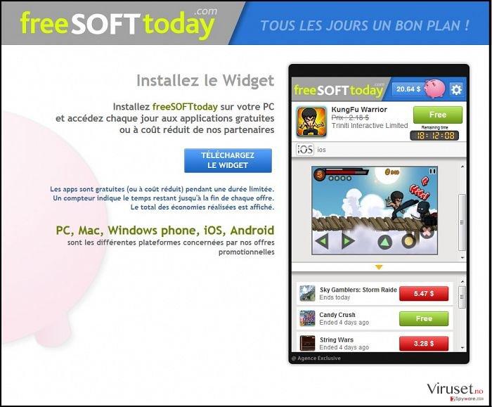 FreeSoftToday skjermbilde