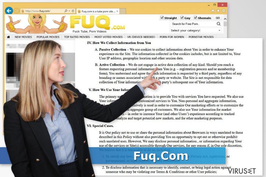Fuq.Com virus skjermbilde