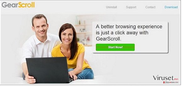 GearScroll virus skjermbilde