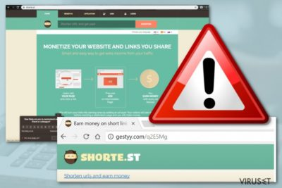 Gestyy.com adware
