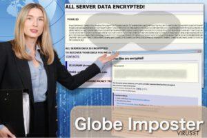 Globe Imposter ransomware virus