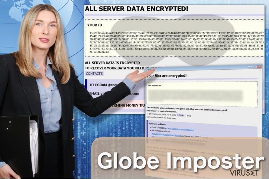 Bilde av Globe Imposter virus