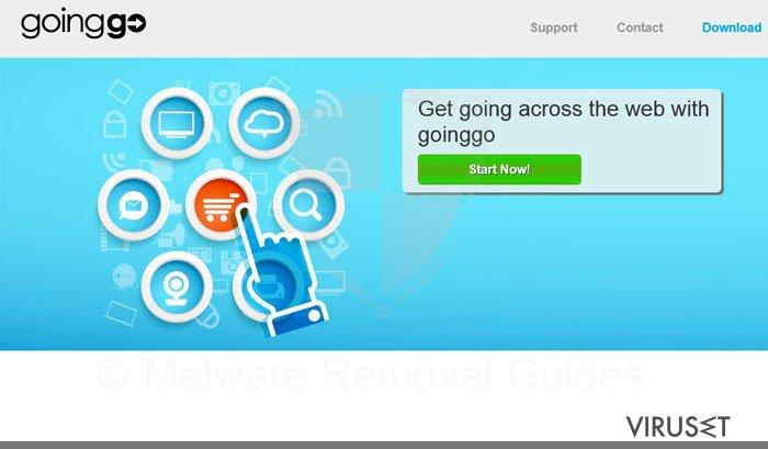 GoingGo virus skjermbilde
