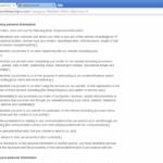Google omdirigering skjermbilde