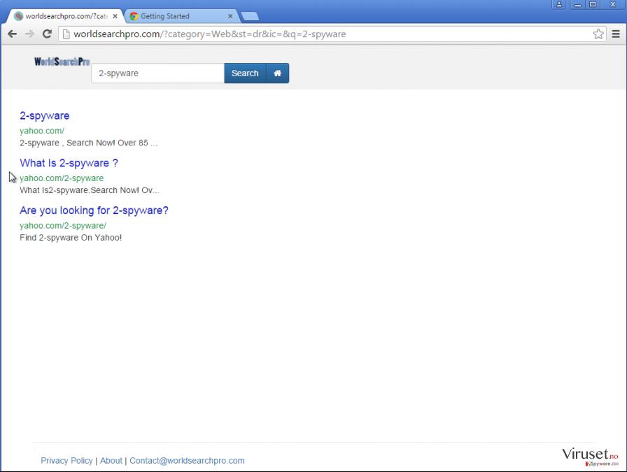 Google omdirigering