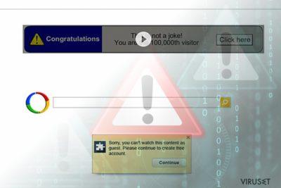 Google omdirigeringsvirus