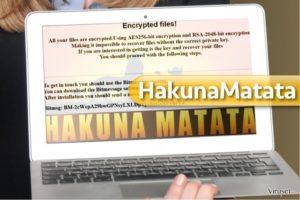 HakunaMatata ransomware virus