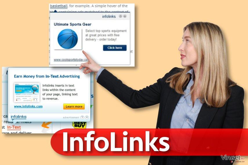 Infolinks skjermbilde