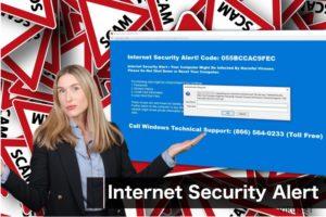 """Internet Security Alert""-virus"