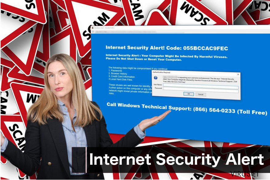 """Internet Security Alert""-virus"
