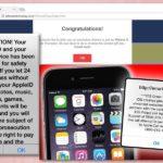 iPhone-virus skjermbilde