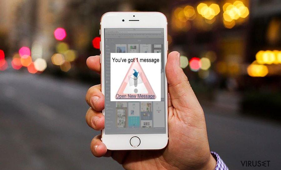Bilde som viser iOS-virus