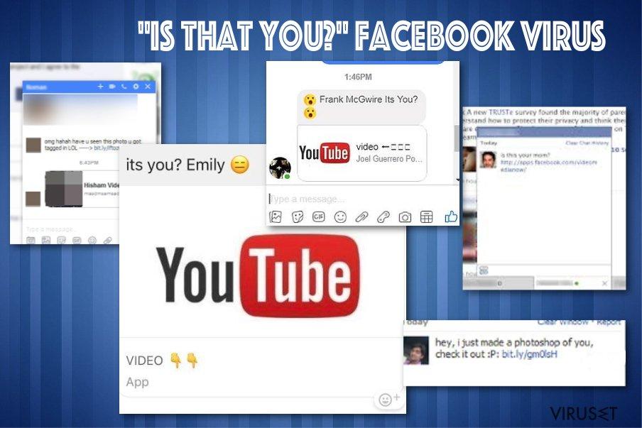 """""""Er det deg"""" Facebook messenger-virus"""