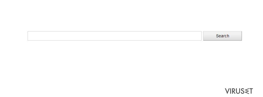 Isearch.Glarysoft.com omdirigere virus skjermbilde
