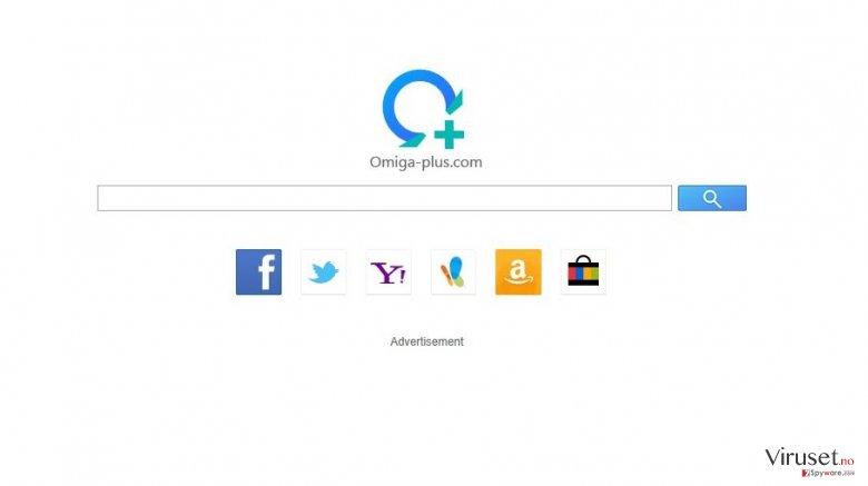 isearch.omiga-plus.com skjermbilde