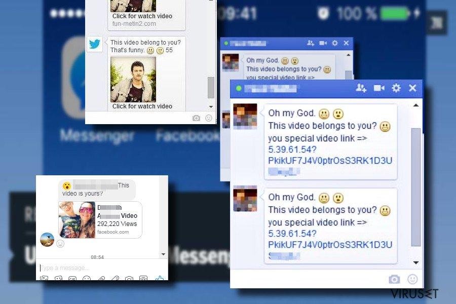 """""""Er det deg"""" Facebook virusmelding"""