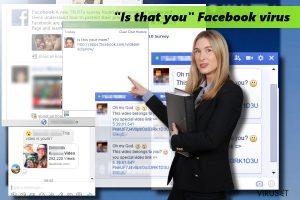"""""""Er det deg"""" Facebook-virus"""