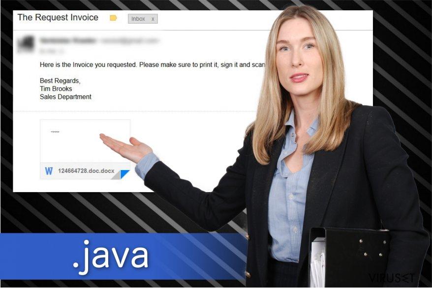 .java fil utvidelse ransomware tegning