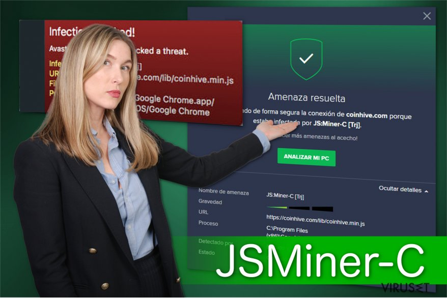 Illustrasjon av JS:Miner-c
