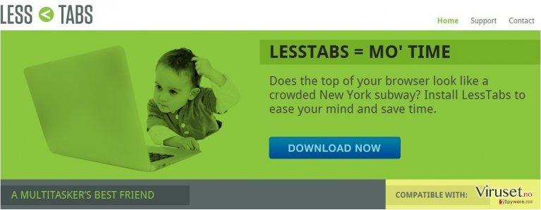 Less Tabs skjermbilde