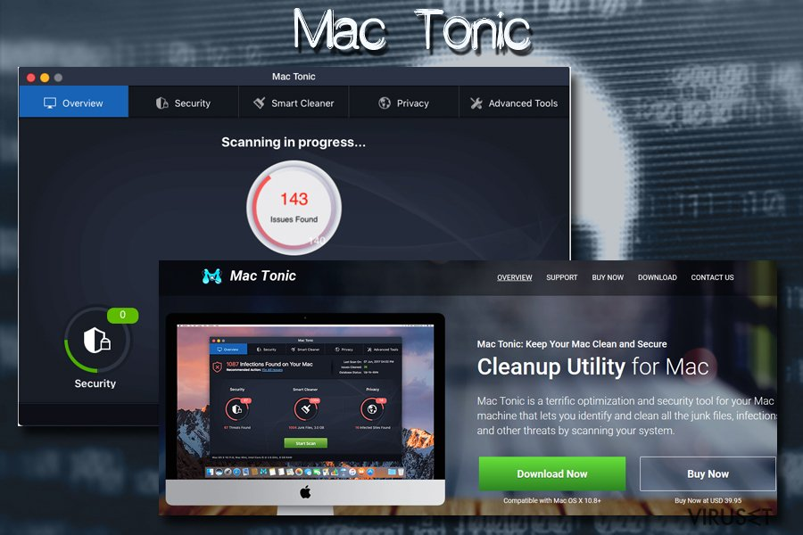 Mac-virus Mac tonic