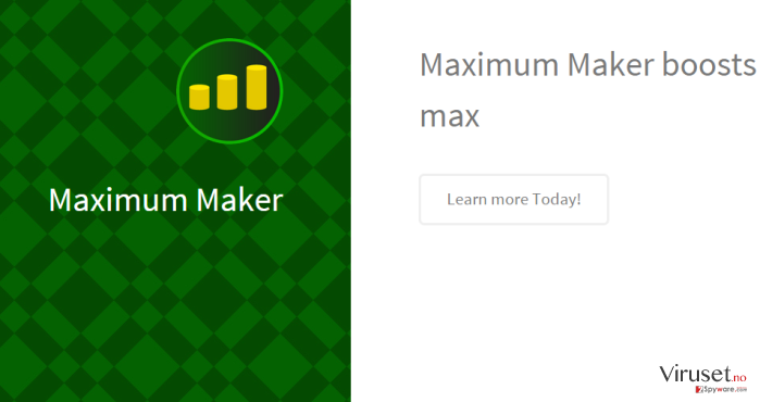 Maximum Maker