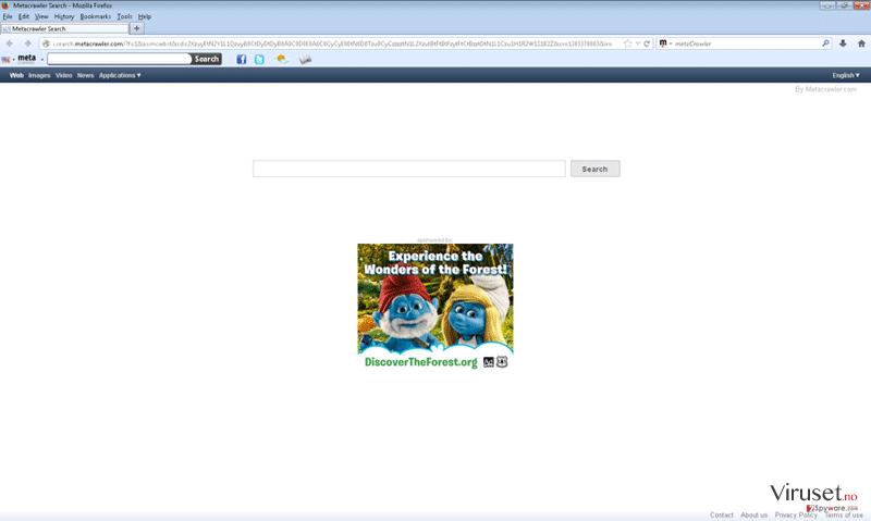 Metacrawler Toolbar skjermbilde