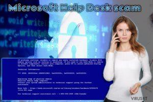 Microsoft Help Desk teknisk støtte-svindel