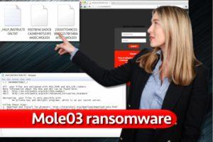 Mole03 ransomware-virus