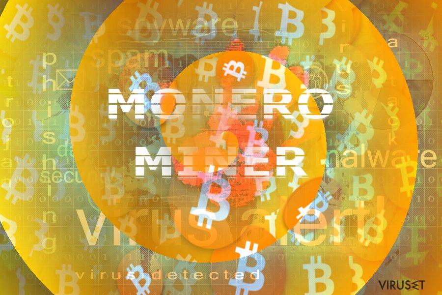 Bilde som illustrerer Monero Miner-konseptet