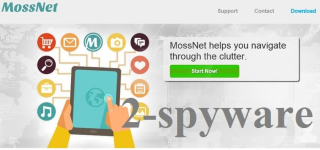 MossNet adware skjermbilde