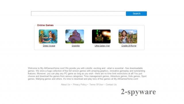 my.allgameshome.com skjermbilde
