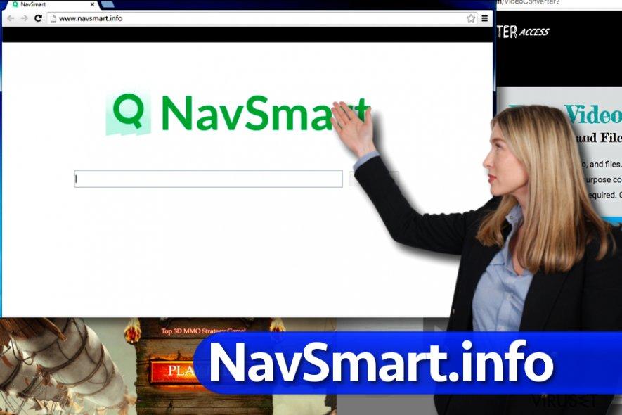 NavSmart.info-virus skjermbilde