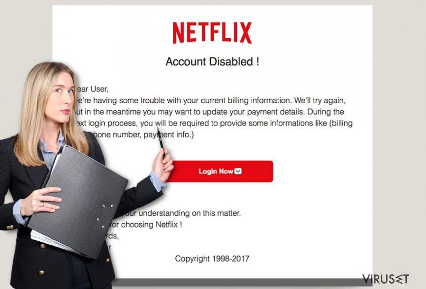 Netflix.com-annonser skjermbilde