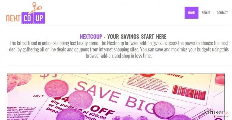 NextCoup-annonser skjermbilde
